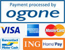 Payment processed by Ogone